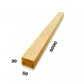 Рейка 30х50х6000 (Сосна)